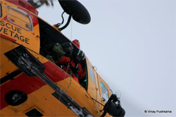 CTVNews image of helicopter rescue crew. A CMC Rescue Equipment Blog Post.