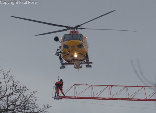 CTVNews image of helicopter rescue patient positioning. A CMC Rescue Equipment Blog Post.