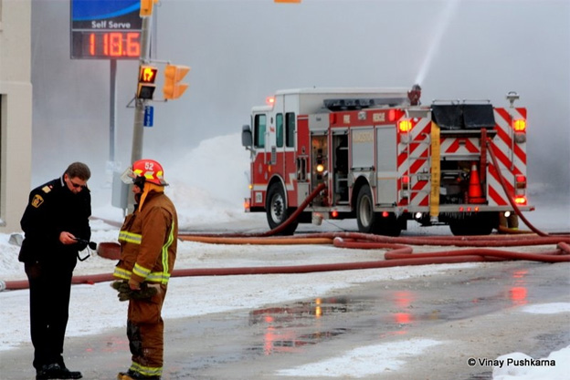 CTVNews image of helicopter rescue Kingston, Ontario fire hoses. A CMC Rescue Equipment Blog Post.