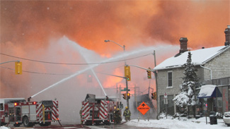 CTVNews image of helicopter rescue & fire suppression. A CMC Rescue Equipment Blog Post.