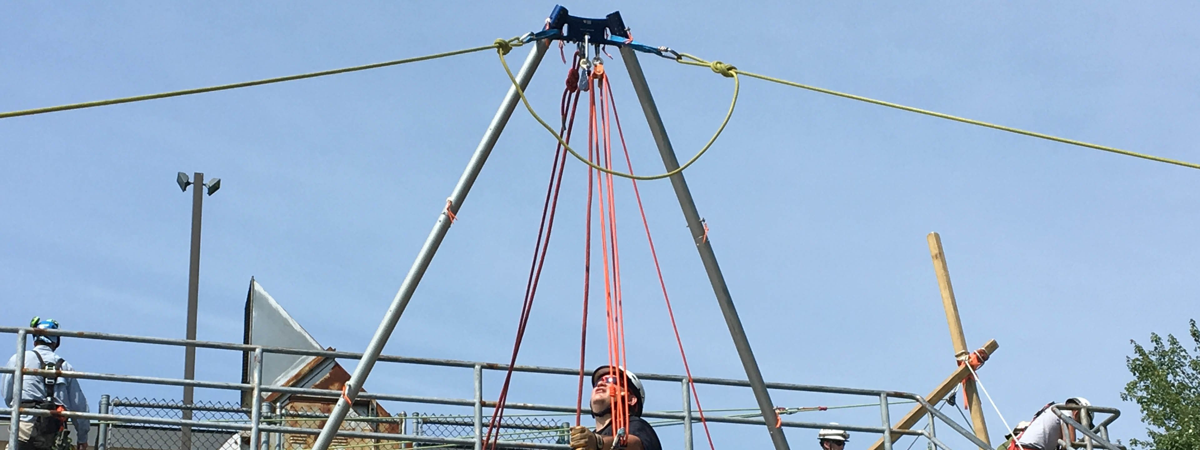 Rope Access & Tower Rescue Training