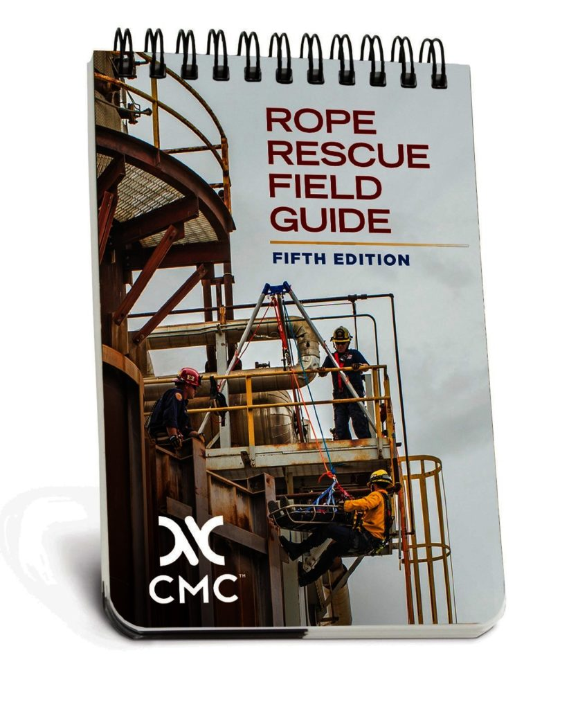 waterproof rope rescue pocket field guide cmc pro rh cmcpro com Rope Rescue Figure 8 Rope Rescue Anchor Systems