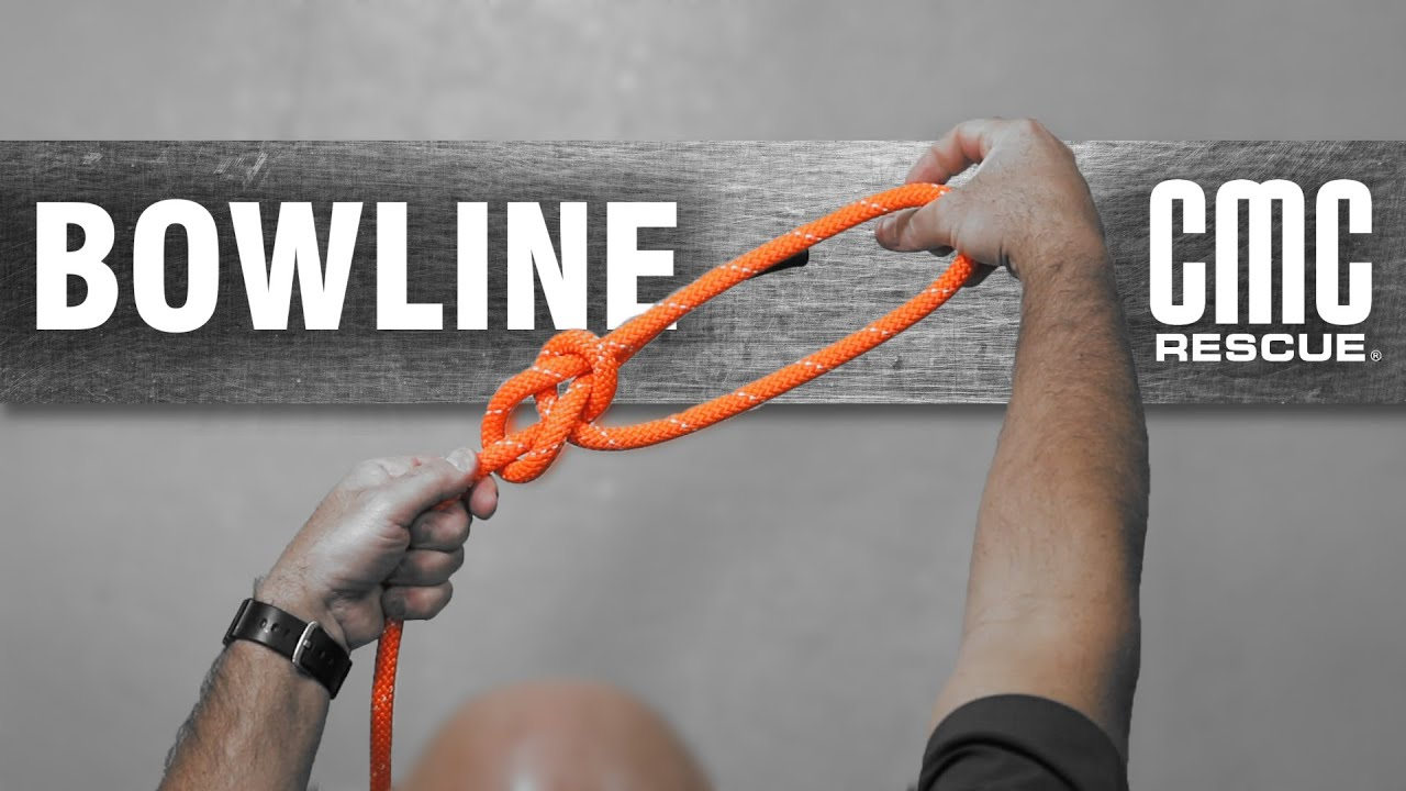 Learn How To Tie A Bowline Knot Cmc Pro By
